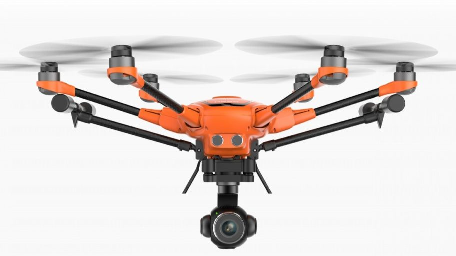 Yuneec have used DroneCore to integrate with the camera and gimbal on the H520